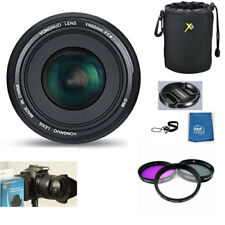 Yongnuo YN50MM 50mm F 1.4 Standard Prime Lens KIT for Nikon 50mm D5600 D3400 D90