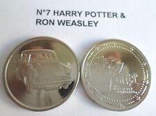 Pièce N°7 HARRY & RON neuve / coin jeton pour album Harry Potter GRINGOTTS