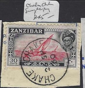 ZANZIBAR  (PP2510B)   SULTAN 30C PIECE SG 363 CHAKE CHAKE SINGLE RING CDS VFU