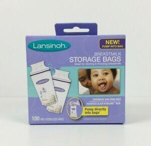 Lansinoh Breastmilk Storage Bags 100 Count