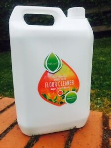 10 Litre Floor Cleaner Concentrate.Essential Oils,Citrus,166 washes,Sustainable