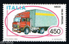 ITALIA 1 FRANCOBOLLO MACCHINA AUTOTRENO IVECO AUTO 1984 nuovo**