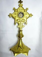 ✝ Reliquary Relic TRUE CROSS D.N.J.C. From OUR LORD JESUS