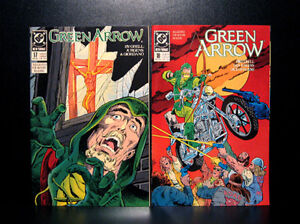 COMICS: DC: Green Arrow #17-18 (1989, vol 2) - RARE