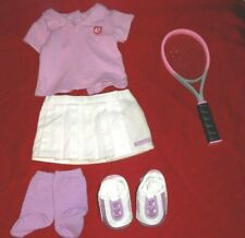 American Girl DOLL TENNIS OUTFIT WITH RACQUET