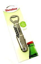 NEW Design Metaltex 5 In 1  Corkscrew  Hand Tool Gadget Utility Kitchen Tools