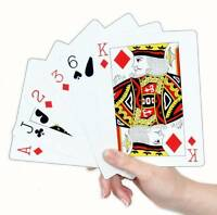 Extra Large Jumbo 17cm x 12cm Deck Pack Of Plastic Playing Cards Wonderland 502