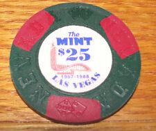 THE MINT 57-88 $25 LAS VEGAS BORLAND FANTASY CASINO POKER CHIP