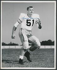 1952 GEORGE MORRIS Georgia Tech Football All American & HOF Signed Vintage Photo