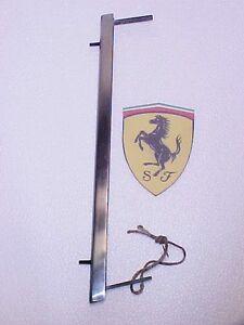Ferrari Quarter Glass Window Moulding Trim 275 330 Pininfarina OEM