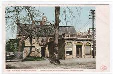 Old Witch House Pharmacy Salem MA Detroit Pub postcard