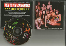 FUN LOVIN CRIMINALS King of New York CLEAN 1997 PROMO Radio DJ CD single Lovin'