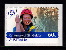 2010 Centenary Of Girl Guides - P&S Stamp