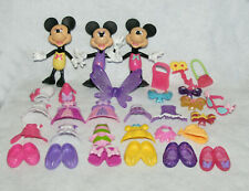 Fisher-Price Disney Bowtique Snap 'n Style Minnie Mouse Lot