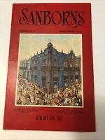 Sanborns Salon De Te  Restaurant Menu Monterrey Mexico 1950's House of Tiles