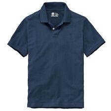 Timberland Men's Short Sleeve Pique Summer 100% Cotton Polo Shirt 8743J