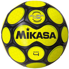 Mikasa Soccer Ball, Size 4, Black/Neon Yellow