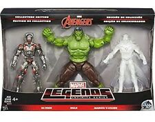 Marvel Legends Infinite Series Avengers 3 Fig Ultron Hulk Vision New In Package