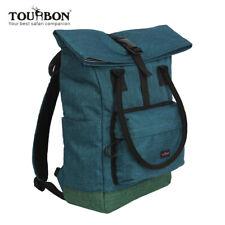 Tourbon Roll-Top Laptop Rucksack Schule Sport Freizeit Fahrradtasche Backpack