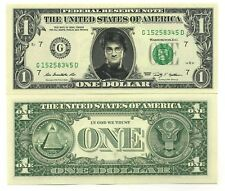 HARRY POTTER VRAI BILLET de 1 DOLLAR US ! COLLECTION Daniel Radcliffe Fantastic