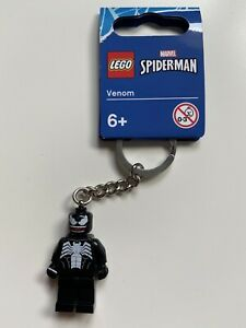 LEGO Marvel Spiderman - Venom Keyring (854006) BRAND NEW WITH TAGS!
