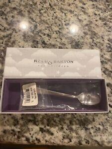 "Vintage Silverplate Reed & Barton ""Colonial"" Baby Spoon Orig Box & Pkg"