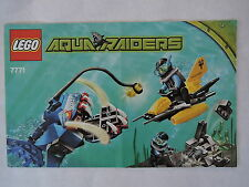 LEGO Bauanleitung / Instruction Aqua Raiders 7771