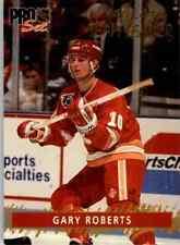 1992-93 Pro Set Gold Team Leaders Gary Roberts #1
