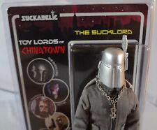 "SUCKADELIC Toy Lords of Chinatown RARE Kickstarter SUCKLORD 8"" Action Figure"