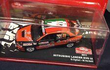 Voiture 1/43 - Mitsubishi Lancer Evo IX 2011 Ogliari Monte Carlo