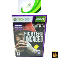 Fighters Uncaged (2010) Ubisoft Xbox 360 Game Case Manual Disc Tested Works