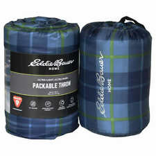 "Eddie Bauer Home Packable Down Alternative Throw Ultra Light & Warm 60x70"" NEW"