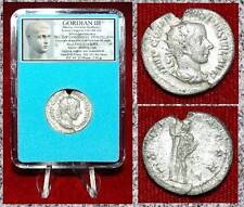 New ListingAncient Coin Gordian Iii Silver Double Denarius Jupiter on reverse