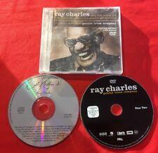 LE MEILLEUR RAY CHARLES GENIUS LOVES COMPANY TRÈS BON ÉTAT CD + DVD