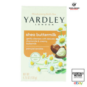 YARDLEY Soap Boxed Shea Buttermilk 120g