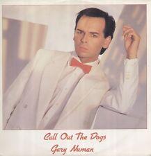 GARY NUMAN Call Out The Dogs Vinyl Record 12 Inch Numa NUM 11 1985