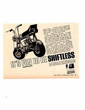 1968 RUPP TT500 MINI-BIKE   ~   NICE ORIGINAL SMALLER PRINT AD