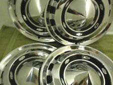 SET of 4 1956 CHEVROLET HUBCAPS  WHEEL COVERS 15 inch 56 Chevy