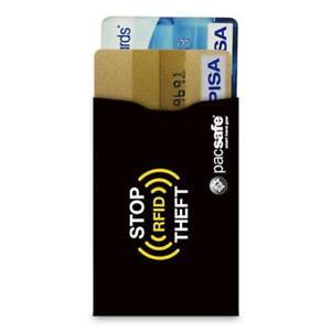 New - Pacsafe RFID Blocking Credit Card Sleeve