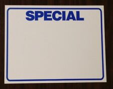 Bogo Special Display Sale Price Signs 11 X 85 50pcs Price Cards Pricing Signs