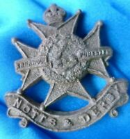 Sherwood Foresters (Notts and Derby) Regiment PLASTIC Economy Issue Cap Badge