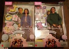 Happy Family Grandpa Grandma Pregnant Midge Barbie Lot of 2 Grandparents RARE