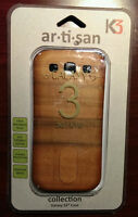 NEW Real Wood Case/Cover For Verizon Samsung Galaxy S3 SCH-i535 Cell Phone