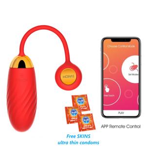 Svakom Ella Neo APP Remote Controlled Wearable Panty Vibrator Love Egg Sex Toys