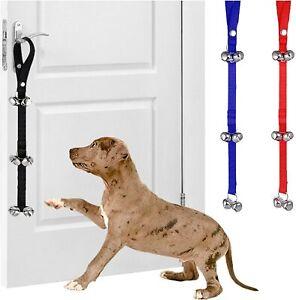 Pet Dog Potty Toilet Training Door Bells Nylon Housetraining Housebreaking Puppy