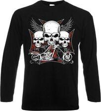 Camisetas de hombre negro B&C