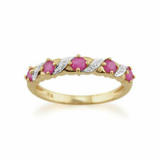 Yellow Ruby Fine Rings