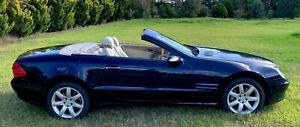 MERCEDES BENZ SL500 2003, 7 speed auto, Brutal 5 litre V8