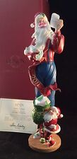 Lenox 2011 LETTERS TO SANTA Annual Pencil Santa New In Bow W/COA Free Shipping