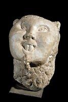 Frammento di busto di uomo cinese, manifattura italiana, XV secolo